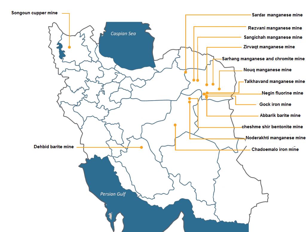 Iranian mining company